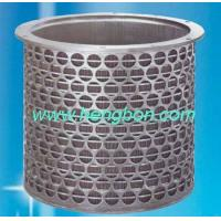 Cheap Wedge Wire Screen basket for paper machine wholesale
