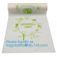 Quality Biodegradable Plastic Bags Food Waste Caddy Liner Eco Friendly Vacuum Seal for sale
