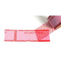 High Residue Tamper Proof Seal Tape / Custom Security Tape With Print Logo