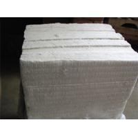 China High Heat Insulation Refractory Ceramic Fiber Board White Color For Air Stove on sale