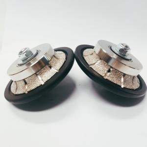 Cheap 85mm Demi Bullnose  Vacuum Brazed Diamond Tools Blades Granite Countertop wholesale