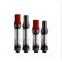 Cheap Red Hat CBD Vaporizer Cartridge 510 Thread 3.3V-4.2V With Black Silver Color wholesale