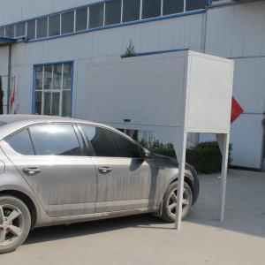 Cheap H2300 * W2300 * D900mm Over Bonnet Storage Locker For Parking Lot / Apartment Garage wholesale
