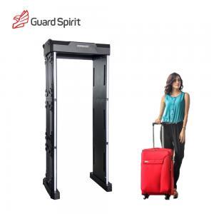 Cheap Muti Zones Portable Walkthrough Metal Detector / Security Wand Metal Detector Gate wholesale