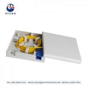 Cheap FTTH Sc / APC Faceplate Wall Socket OEM Fiber Terminal Box IP65 wholesale