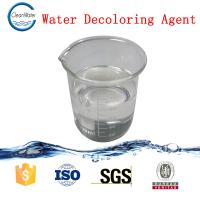 Cheap CW -08 Water Decoloring Agent , Water Treatment Chemicals Sticky Liquid wholesale