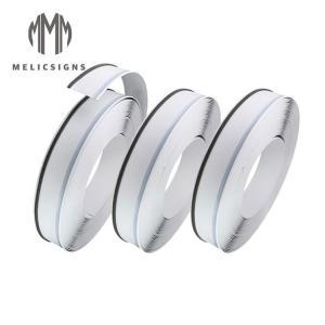 Cheap Anodized Channel Letters White Color Channelume Aluminum Trim Cap wholesale