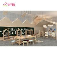 Cheap Unique child care centre wooden furniture design for preschool nursery school wholesale