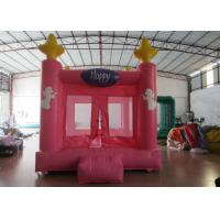 Cheap Colourful Custom Inflatable Big Bouncy Castle Kids Indoor Inflatable Bouncer Fire Resistance PVC wholesale