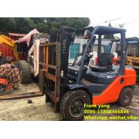 Cheap Hydraulic Systems Used Diesel Forklift Truck Good Working Condition wholesale