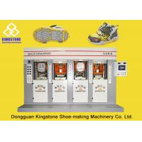Buy cheap Energy - Saving Four Stations Safety Shoe Sole Making MachineWith Servo Motor from wholesalers