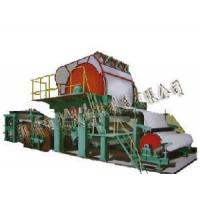 Buy cheap 1575mm Single-Cylinder and Single-Wire Paper Machine from wholesalers