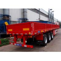 Cheap CIMC side wall semi trailer for bulk cargo 40 ft flatbed trailer with side wall drop side trailer wholesale