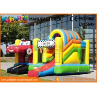 Buy cheap 0.55mm PVC Play House Kids Castillos Inflables Bouncy Castle With Slide from wholesalers