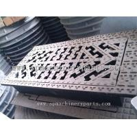 Cheap Large heavy manhole cover cast iron decorative with mounting wholesale