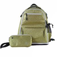 Cheap Embroidery Logo Glitter Fashion Backpack For Sports Light Weight wholesale
