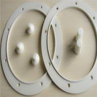 Cheap Anti leakage Silicone Flange Gasket , Molded Rubber Gaskets SBR / EPDM / NBR wholesale