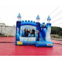 Buy cheap Frozen Inflatable Bouncer Slide Jumping Castle Combo 1 Year Guarantee from wholesalers