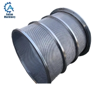 Cheap Paper Mill Stainless Steel Screen Basket Of Waste Paper Pressure Screen Basket wholesale
