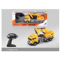 Cheap 27 MHz Frequency Mini RC Remote Control Excavator Toy For Kids Role Play wholesale