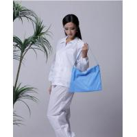 Cheap 5mm strip cleanroom lint free washable anti static ESD jacket and pants wholesale