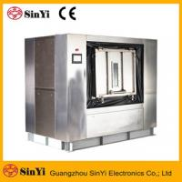 Quality (GL) hospital laundry equipment stainless steel barrier washer isolating type industrial washing machine for sale