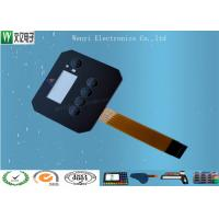 Cheap Customized FPC Circuit Touch Screen Membrane Panel Switch 0.18 mm PET / PC Overlay wholesale