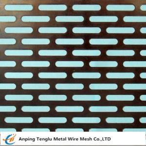 Cheap Slot Holes Perforated sheet wholesale