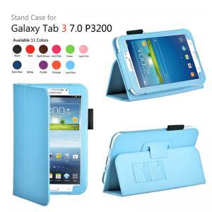 Cheap P3200 P3210 Samsung Galaxy Tab Protective Case 7.0 Inch , Folio Pu Leather wholesale