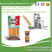 Buy cheap High speed packaging machine with multi heads weigher for food bread sticks from wholesalers
