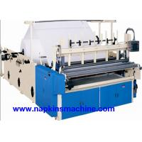 Cheap Recycled Toilet Paper Making Machine With Color Printing And Rewinding Machine wholesale