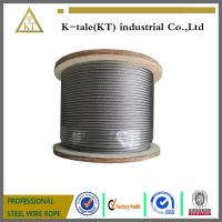 Cheap 8*19W steel wire rope, elevator wire rope wholesale