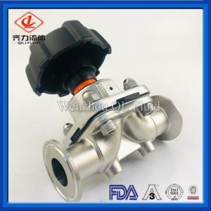 "Cheap Hygienic Stainless Steel Valves 316L Diaphragm Valve 1/2""-4"" For Pharmacy wholesale"