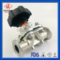 "Buy cheap Hygienic Stainless Steel Valves 316L Diaphragm Valve 1/2""-4"" For Pharmacy from wholesalers"