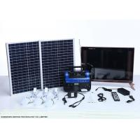 Cheap High End Residential Solar Power Systems Build In Rechargeable Battery wholesale