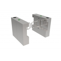 Cheap 600mm Channel 1s SS304 Bi Directional Swing Turnstiles For Office wholesale
