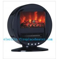 Cheap High Efficiency 2KW Rotating Fireplace Classic Flame Electric Fireplace For Villas wholesale