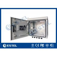 Cheap 9U Outdoor IP55 Pole Mounted Cabinet For Communication Base Station wholesale