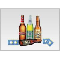 Cheap Beer Label Vacuum Metallized Paper Laminate Sheets Chemical Type , Width 200mm-2000mm wholesale
