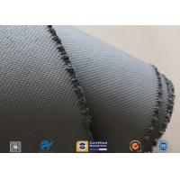 Cheap 1600gsm Grey Thermal Welding Blanket Materials Silicone Coated Fiberglass Fabric wholesale