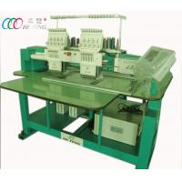 Cheap Small Tubular Embroidery Machine For Cap / T-shirt , 2 Heads 9 Needles wholesale