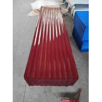 Buy cheap Heavy Duty Corrugated Steel Roof Sheets Zinc Coated Standard Size from wholesalers