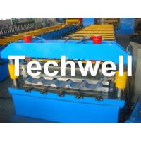 Cheap Metal Trapezoidal Roof Panel Roll Forming Machine for Making Trapezoidal Roof Panel wholesale