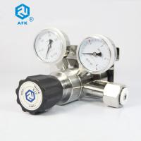 China CO2 High Pressure Air Regulator With Gauge For High Purity Gas One Stage on sale