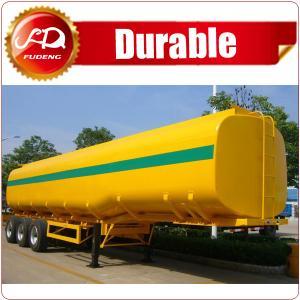 Cheap 3-axle 40CBM Fuel Tanker/Oil Diesel Transport Truck Semi Tank Trailer For Sale wholesale