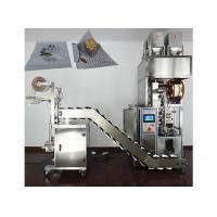 Cheap Fully Automatic Tea Packaging Machine With Touch Screen Dispaly , Stainless Steel Material wholesale