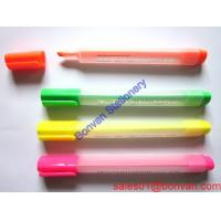 Cheap Colorful highlighter for promotion, good quality black highlighter pen for school students wholesale