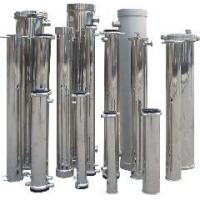 China Water Treatment Stainless Steel Filter Housing for Various Water Treatment Plant on sale