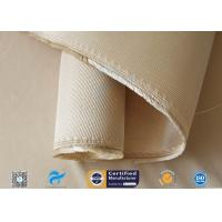 Cheap 12HS Silica Fabric Welding Blanket Splash Protection High Silica Cloth Brown wholesale