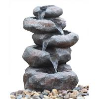 Buy cheap Contemporary Garden Fountains , Landscape Water Fountains With Lights from wholesalers